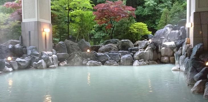 Польза термальных источников Японии