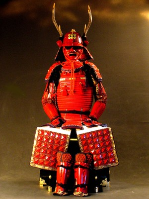Red yoroi Sanada