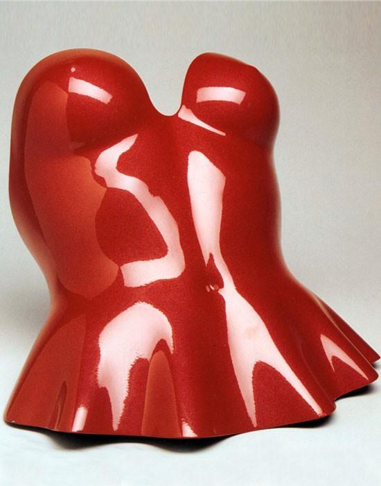 Red yoroi corsage