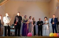 Завершение концерта в Тинро